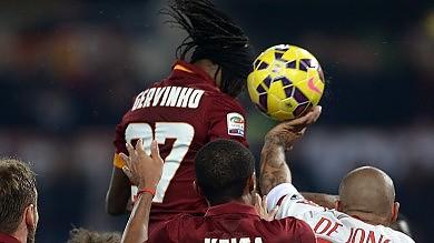 Roma fermata da un bel Milan  La Juve sorride  è tornata a + 3      Foto -     Video