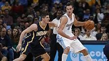 Gallinari trascina Denver Spurs, non basta Belinelli