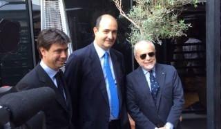 "Supercoppa: Agnelli-De Laurentiis, vigilia insieme. ""I veleni del 2012? Acqua passata"""