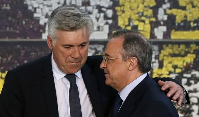 """Perez: """"Ancelotti sarà il nostro Ferguson"""""""