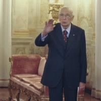 """Napolitano al Csm: """"Nessun protagonismo delle toghe"""""""