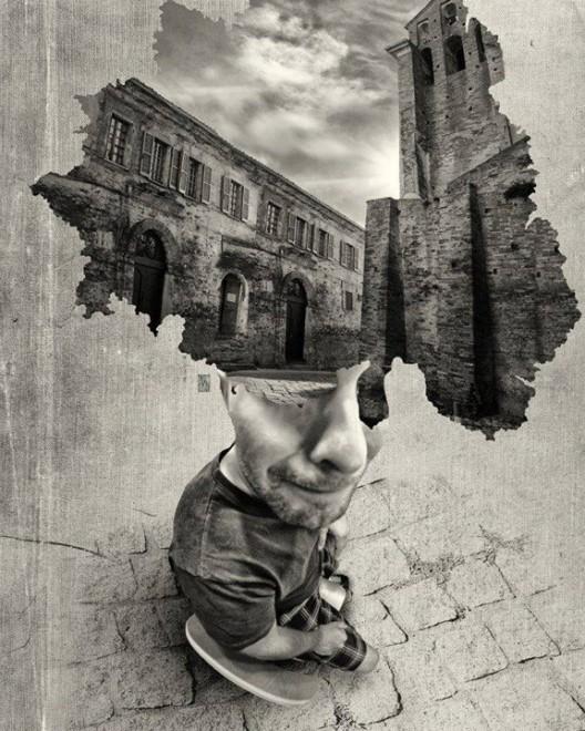 Una città per cappello: quando la mente è altrove