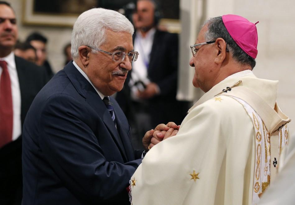 Messa di Natale a Betlemme, c'è anche Abu Mazen