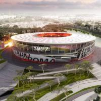 Sembra il Colosseo, sarà lo stadio di Totti