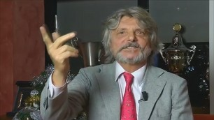 """""""Fate l'amore e mangiate"""", auguri da Massimo Ferrero: """"Quello vero'"""