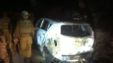 Cisgiordania, padre e figlia israeliani ustionati da bomba incendiaria   Video