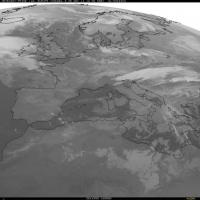Maltempo sull'Italia: le foto dal satellite