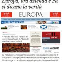 """Europa non chiude, ma sarà """"fatto in casa"""" dal Pd"""