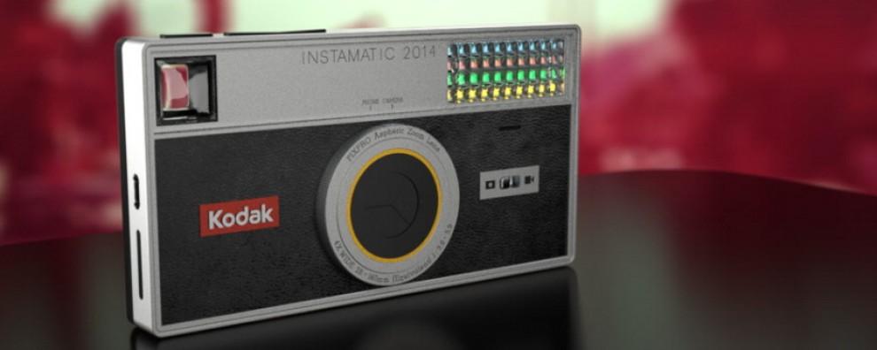 Ces 2015, Kodak presenterà il suo smartphone Instamatic 2014