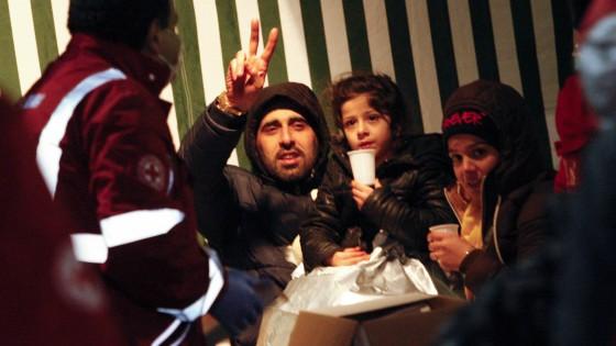 Cargo Ezadeen in porto in salvo. A bordo 360 profughi, 74 bambini