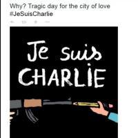 #jesuischarlie: l'hashtag solidale per il giornale parigino