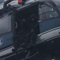 Charlie Hebdo, gli elicotteri delle forze speciali su Dammartin en Goele