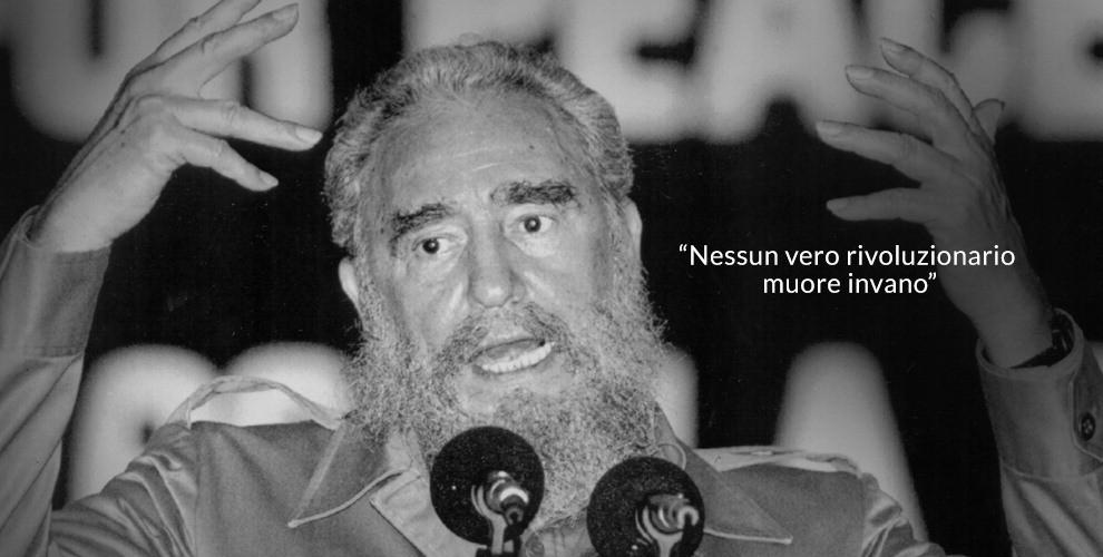 Fidel Castro, le frasi