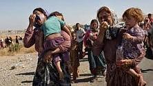 Nord Iraq,  la fuga da Sinjar,  Viaggio tra le comunità  degli Yazidi  nel rigore dell'inverno