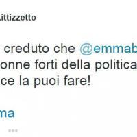 #ForzaEmma: solidarietà su Twitter per la leader radicale