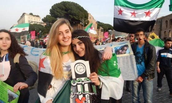 """Siria, libere Vanessa Marzullo e Greta Ramelli. """"Nella notte in Italia"""""""