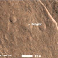 """Marte, localizzata la sonda europea """"Beagle 2"""""""