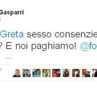 Illazioni su Greta e Vanessa: la gaffe di Gasparri su Twitter