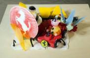 Una galleria di sculture in zucchero dedicata al mito della Ferrari