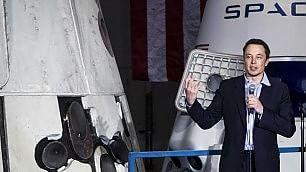 'Voglio internet su Marte' Il nuovo sogno di Musk