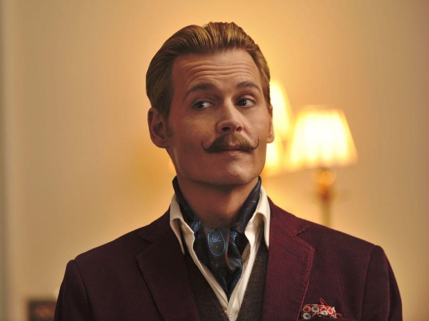 """Mortdecai"", la nuova metamorfosi di Johnny Depp"