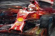 Motoring Art, dalla Mercedes F1 alla Ferrari