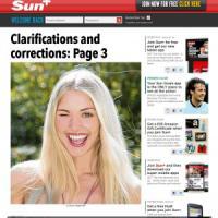 """Gb: altro che svolta, donna in topless a pagina 3 del """"Sun"""""""