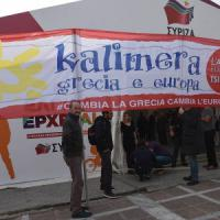 "La ""Brigata Kalimera"" italiana incontra Tsipras"