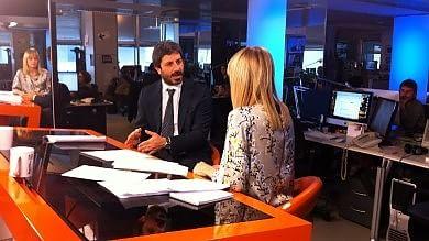 """Rep tv  Videoforum con Fico (M5s):  """"Chiediamo a Renzi trasparenza  Non metterei Amato in voto sul blog"""""""