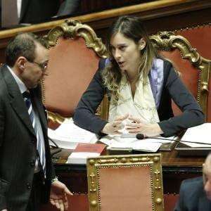 """Italicum, minoranza Pd in trincea: """"Non votiamo maxi-emendamento Finocchiaro"""". Boschi: """"Legge seria"""""""