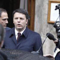 """Renzi apre a Bersani: """"Giovedì il nome decidiamolo insieme"""""""