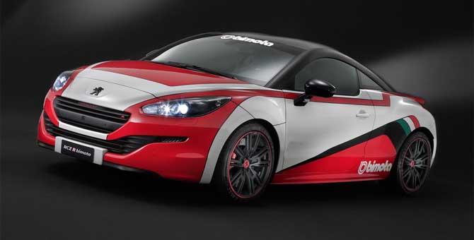 Al mondo delle due ruote piace la Peugeot RCZ