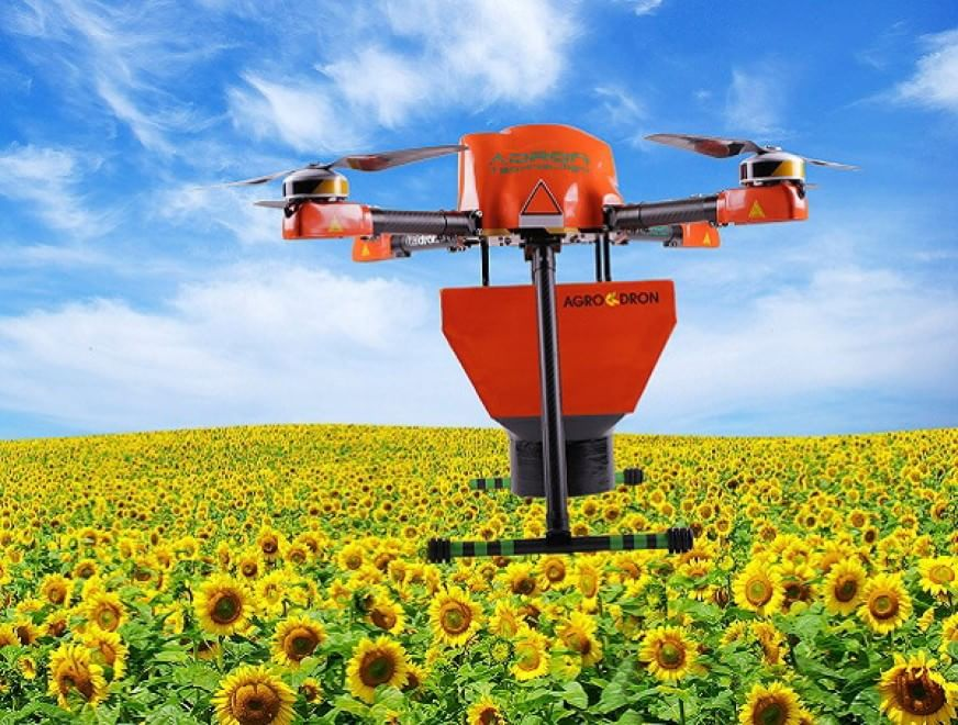 Agrodron, il primo drone-contadino