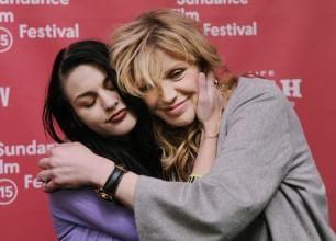 Sundance, Courtney Love con la figlia per l'omaggio a Kurt Cobain
