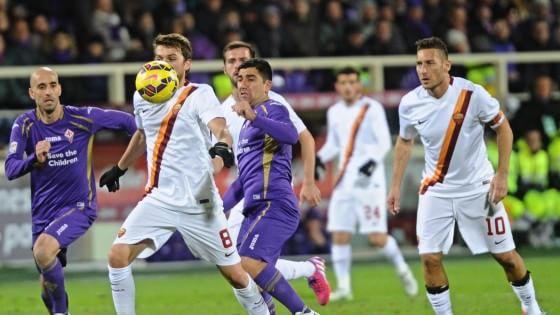 Fiorentina-Roma 1-1: i giallorossi pareggiano ancora, la Juve è in fuga