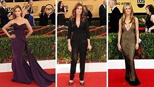 Prove da Oscar sul red carpet  per Aniston, Moore e Roberts