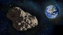 Questa sera occhi al cielo l'asteroide 'sfiora' la Terra    Foto:    A 1,2 milioni di km