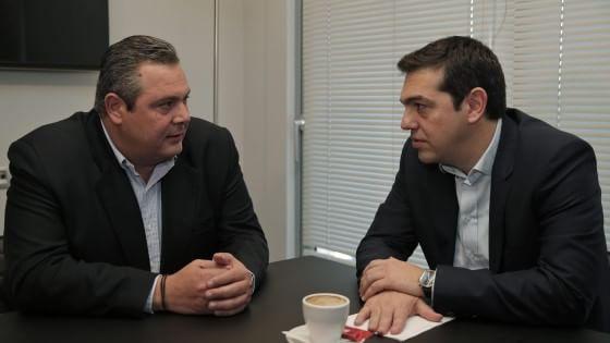 Grecia, Tsipras e la destra di Anel: alleanza per mantenere le promesse