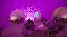 Svezia, sul lago ghiacciato un albergo di soli igloo    ft