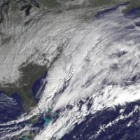 Neve a New York, la tempesta del secolo