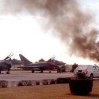 F-16 greco si schianta in base Nato: 10 morti in Spagna. Nove italiani tra i feriti