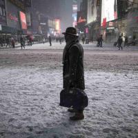 New York, arriva la grande tempesta. Una metropoli 'congelata'
