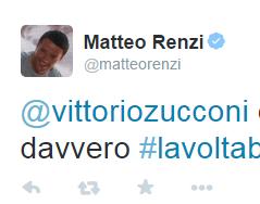 "Cervelli italiani in fuga  Renzi risponde a Zucconi ""Ditegli di tornare"""