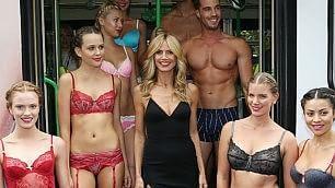 Da top model a stilista    video    la lingerie di Heidi Klum