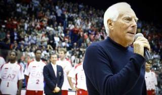 """Basket, Olimpiamente incontra """"re"""" Armani: """"Migliori dell'anno scorso"""""""