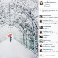Stati Uniti, la tempesta vista dai newyorkesi: le foto sui social