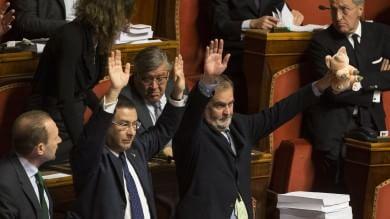 """L'Italicum passa lo scoglio del Senato  Renzi: """"Il coraggio paga, andiamo avanti"""""""
