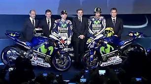 """Rossi, sfida a Marquez  """"Per la 10ª, come il Real""""   Foto  La nuova Yamaha   di GIORGIO BARATTO"""