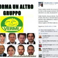 M5s, dieci se ne vanno e per loro un post su Fb: 'Nasce gruppo Vermi'