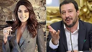 "Elisa Isoardi, conduttrice Rai1 ""E' vero, frequento Salvini""    Leggi     -Video  Sguardi in tv"